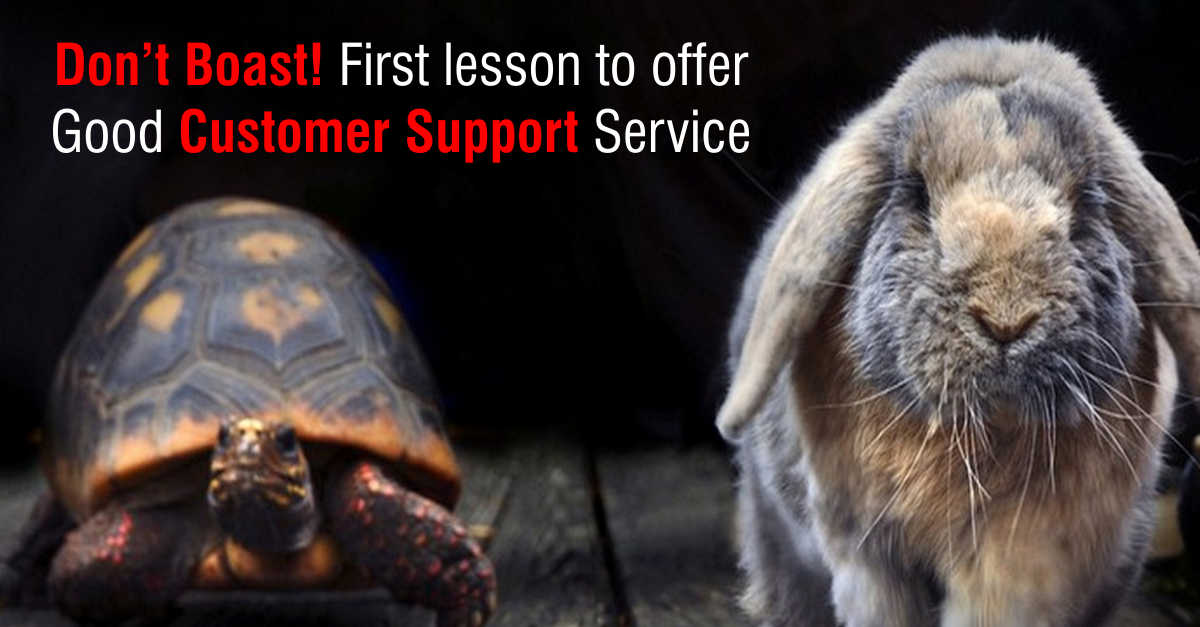 Lesson for Good Customer Support Service