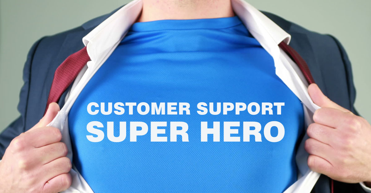 Customer Support Superhero
