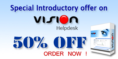 50% Off on Vision 2.0 Owned License