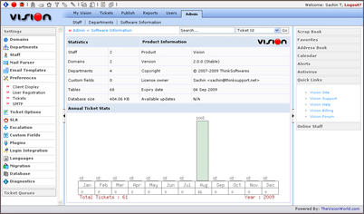 Vision Helpdesk 2.0.0 Stable