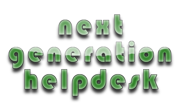 Next Generation Helpdesk