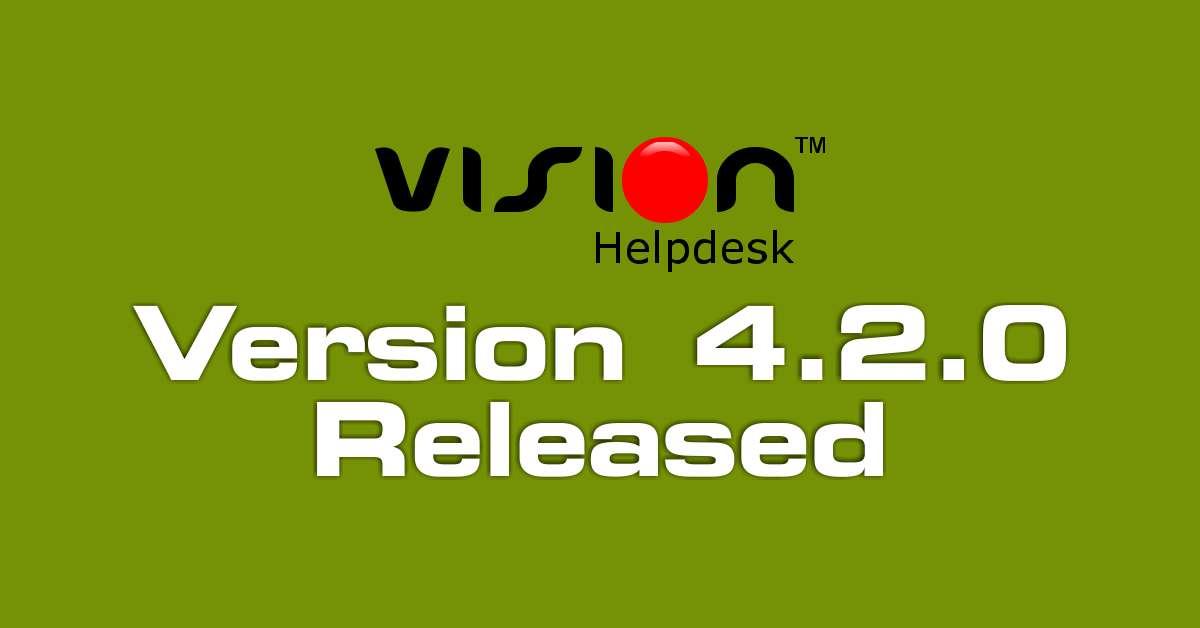 vision helpdesk v4.2.0