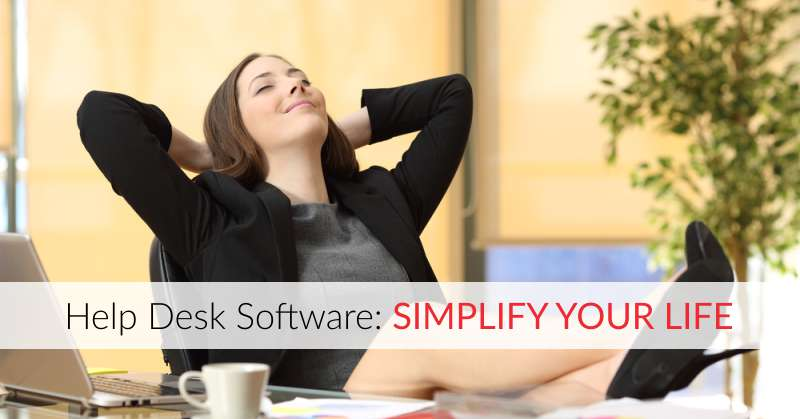 simplify life with help desk