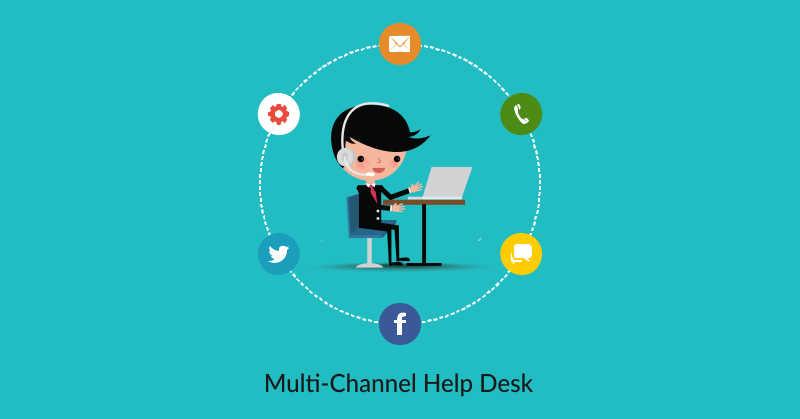 multiple channel help desk