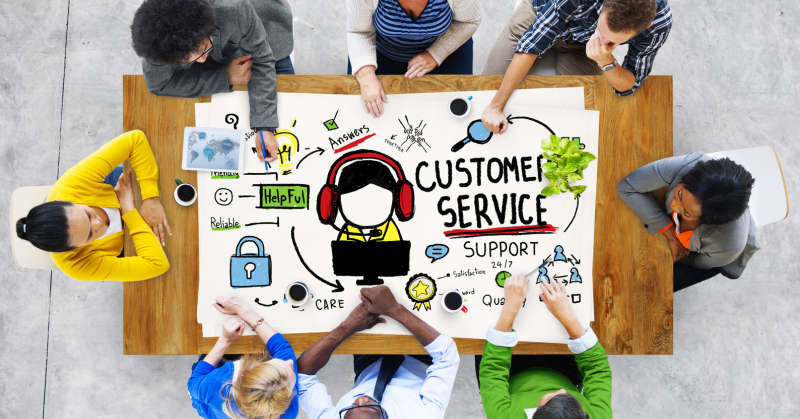 customer service help desk