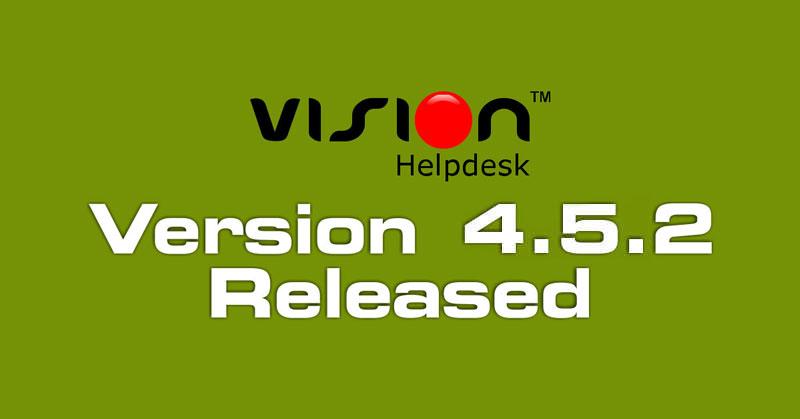 Vision Helpdesk V4.5.2