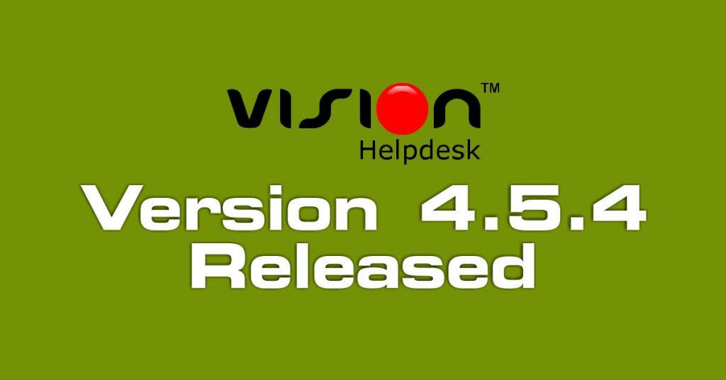 Vision Helpdesk V4.5.4