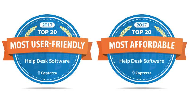 2017 Most Affordable And User Friendly Help Desk Vision
