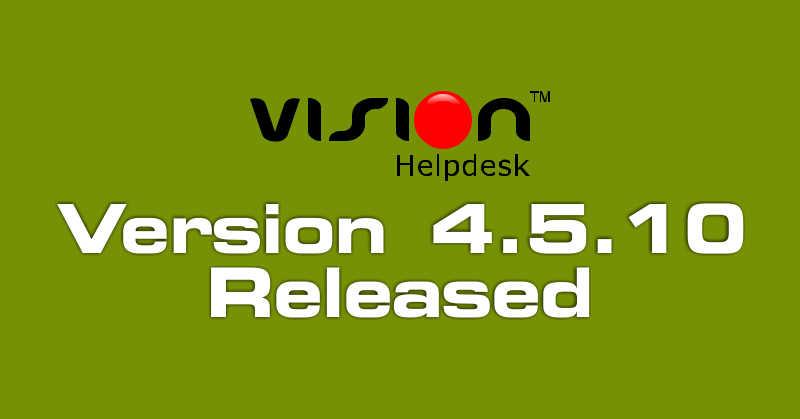 Vision Helpdesk V4.5.10