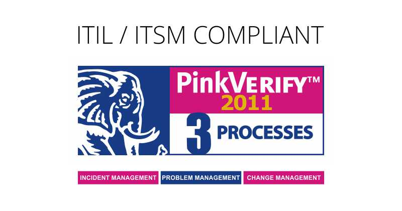PinkVERIFY Certified ITIL Vision Helpdesk